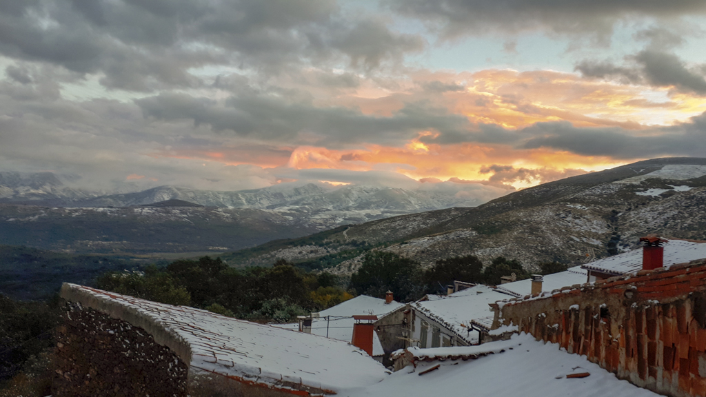 Views of the Gredos Mountains